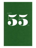 Happy 55th Print