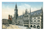 New Town Hall, Munich, Germany Posters