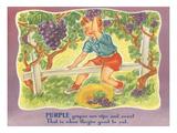Purple Grapes, Little Boy Art