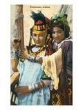 Arab Dancers Poster