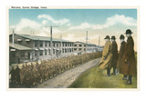 Parade Review, Camp Dodge, Iowa Prints
