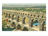 Pont Du Gard, Nimes, France Prints