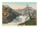Swiftcurrent Falls, Glacier Park, Montana Prints