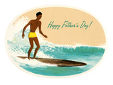 Happy Father's Day, Surfing Prints