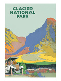 Travel Poster for Glacier Park Posters