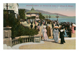 Gazebo and Casino, Monte Carlo, Monaco Posters