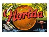 Greetings from Stuart, Florida Art