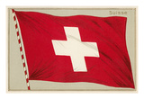 Swiss Flag Prints