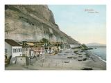 Catalan Bay, Gibraltar Print