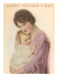 Happy Mother's Day, Sleeping Child Poster