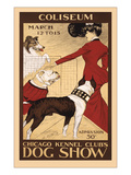 Chicago Dog Show Poster Poster