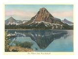 Two Medicine Lake, Glacier Park, Montana Posters