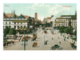 Alexanderplatz, Berlin, Germany Prints