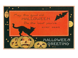 Halloween Greeting, the Best Prints