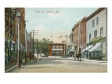 Main Street, Belfast, Maine Posters