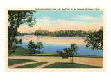 Silver Lake, Rochester, Minnesota Print