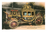 Coronation Carriage, Versailles, France Posters