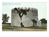 Old Round Tower, Fort Snelling, Minnesota Prints