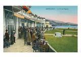 Skeet Shooting, Monte Carlo, Monaco Print