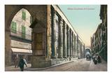 San Lorenzo Colonnade, Milan, Italy Prints