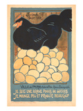 French Chicken with Many Eggs Prints