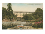 Livermore Bridge, Plymouth, New Hampshire Prints