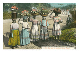 British West Indies Market Day, Jamaica Posters