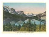 St. Mary Lake, Glacier Park, Montana Poster
