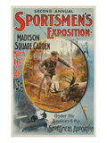 Poster for Sportmen's Exposition, 1896 Posters