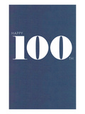 Happy 100th Poster