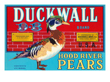 Pear Crate Label, Duckwall Posters