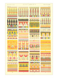 Egyptian Borders and Motifs Print