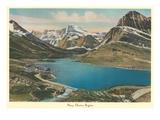 Many Glacier Region, Glacier Park, Montana Posters