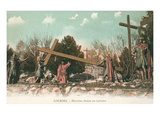 Stations of the Cross, Lourdes, France Print