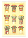 Egyptian Capital Designs Prints