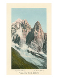 L'Aiguille du Dru and Verte, French Alps Posters