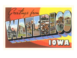 Greetings from Waterloo, Iowa Prints