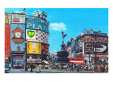 Piccadilly Circus, London, England Art