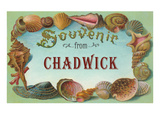 Souvenir from Chadwick, New Jersey Posters