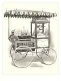 Old Fashioned Popcorn Wagon Print