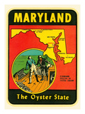 Decal for Maryland Prints