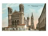 Notre Dame Basilica, Fourviere, Lyon Prints