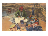 Navajo Silversmith Posters