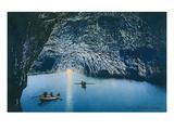 Blue Grotto, Capri, Italy Print