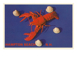 Lobster, Hampton Beach, New Hampshire Posters