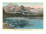 Josephine Lake, Glacier Park, Montana Art