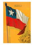 Flag of Chile Prints