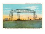Aerial Bridge, Duluth, Minnesota Poster