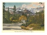 Garden Wall, Glacier Park, Montana Print