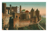 Citadelle of Carcasonne, France Prints